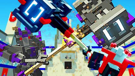【屌德斯解说】 机器人大乱斗 用雷神之锤砸烂变形金刚BOSS!