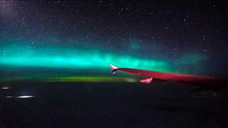 酷玩运动 第一季:乘客飞机上拍到北极光 大神摩天大楼边缘滑板