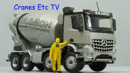 Conrad Mercedes-Benz Arocs Stetter Mixer 'Salomon' by Cranes Etc TV