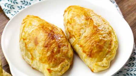 飞饼咖喱饺|太阳猫早餐