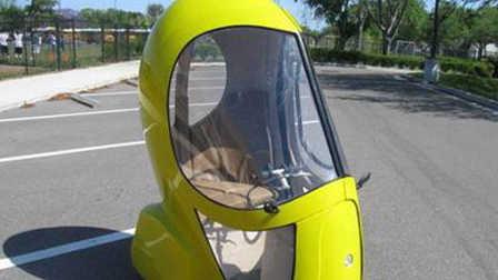 为解决汽车弊端,蛋蛋车诞生,仅占汽车十二分之一