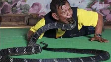 吞毒蛇!全球十大超能力牛人【笑料百出】270