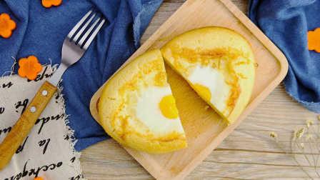 韩国街头鸡蛋面包|太阳猫早餐