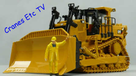 Diecast Masters Caterpillar D9T by Cranes Etc TV
