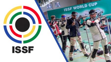 2017射击世界杯之印度新德里站-男子50米步枪三种姿势