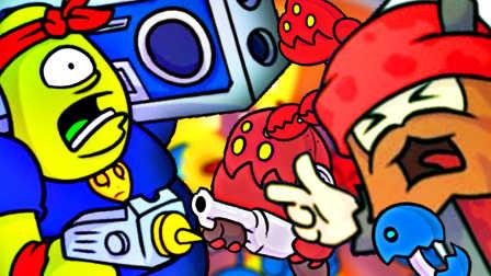 【屌德斯解说】 空间忙乱 MC痞老板扛着音响率领机器人大军统治世界