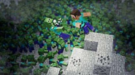 大海解说 我的世界Minecraft 瘟疫僵尸小镇求生