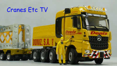 WSI Mercedes-Benz Arocs SLT 'Gruas Doniz' by Cranes Etc TV