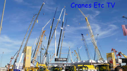 ConExpo 2017 Part 1 by Cranes Etc TV