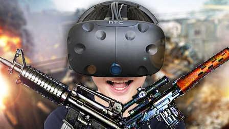 【屌德斯解说】 VR枪战模拟器 史上最真实的枪战游戏!