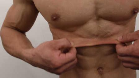 体脂7%的皮可以这样拉