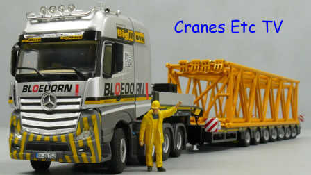 WSI Mercedes-Benz Actros + Broshuis 'Bloedorn' by Cranes Etc TV