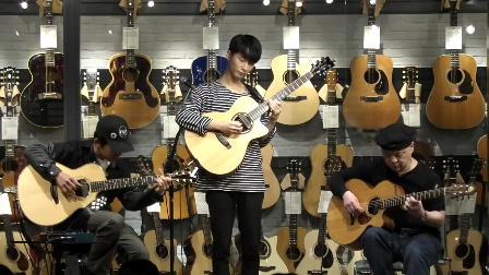 郑成河 岸部真明 Kent Nishimura 现场指弹吉他 三重奏Stars