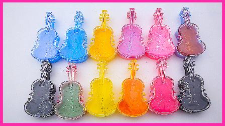 梦幻粘土世界  彩虹吉他水晶粘土 冰雪奇缘 玩具试玩 扮家家 小猪佩奇 托马斯小火车 #欢乐迪士尼#