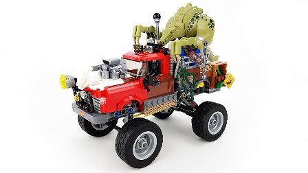 【月光砖厂】乐高LEGO蝙蝠侠大电影70907杀手鳄的巨轮车乐高积木速组评测.mp4