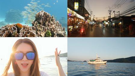 【我是小小b】跟我一块去旅行吧?泰国旅游普吉岛篇!潜入海底看珊瑚