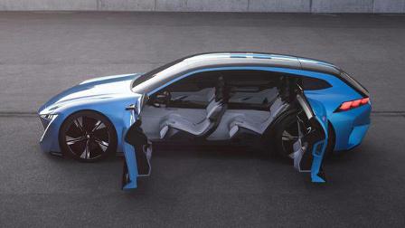 这车方向盘隐藏,霸气的开门方式,揭秘未来汽车方向