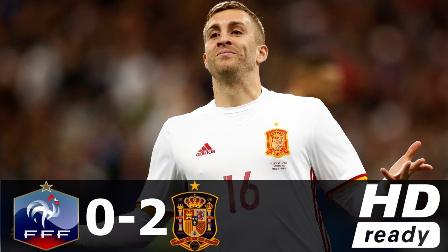 热身赛-奇兵建功席尔瓦破门 西班牙2-0客胜法国