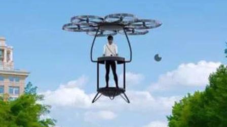 未来风扇飞行器,直接飞在公路上,交察会允许吗