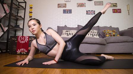 MODO健康Vol.20-每天5分钟家庭极速燃脂塑形健身运动「臀部篇」