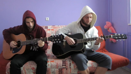 吉他二重奏Egor Koshelev - Alan Walker《Alone》
