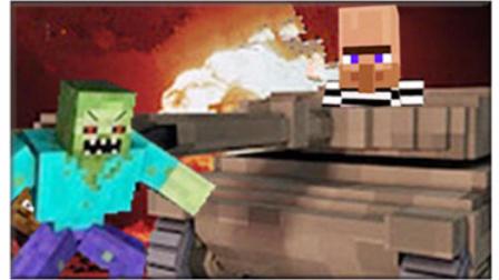 大海解说 我的世界Minecraft 僵尸围城现代战争