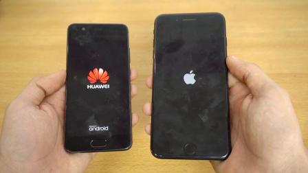 【科技微讯】速度对比!华为P10 大战 iPhone 7p!