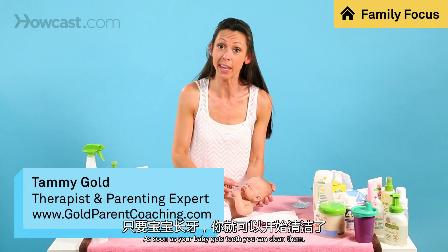 如何清理婴儿牙齿_婴儿护理_视频听译_运城翻译