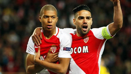 Monaco 3(3-2)1 Dortmund - Highlights