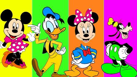 米老鼠和唐老鸭换头像 绿巨人 卡通动画故事 小猪佩奇 亲子视频