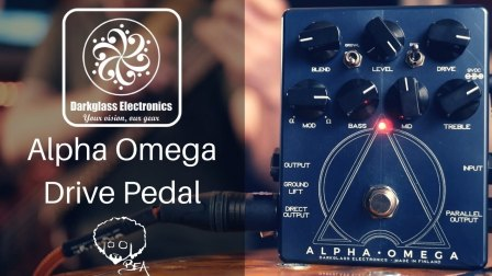 Darkglass Electronics - Alpha Omega Drive Pedal - Karnivool Bass Tones n More!!!