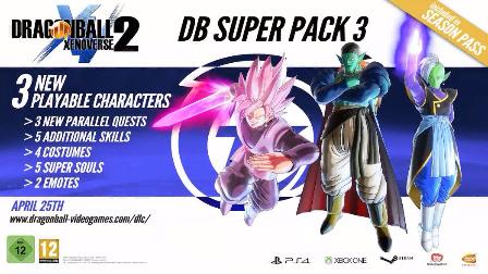 【游戏资讯】【龙珠 超宇宙2 Xenoverse 2】DLC 第三弹 介绍视频 PS4 Xboxone PC三平台【龙珠超宇宙2最新DLC~】