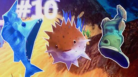 【XY小源】海底大猎杀 第10期 试玩 全身是刺大大胖子 河豚 下次再来一次