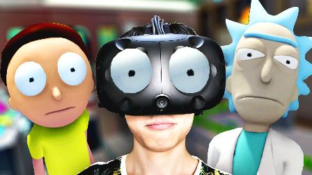 【屌德斯解说】 瑞克和莫蒂VR 在瑞克的实验室里做各种奇葩实验