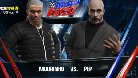 热血KO!瓜穆相看参加WWE!猜猜谁赢了