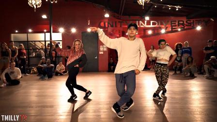 【猴姆独家】太特么帅了!Eden Shabtai带领学生们表演You Don't Know Me舞蹈教学!