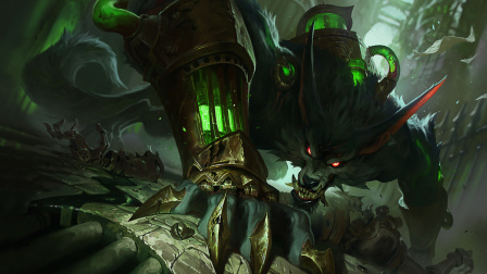 超神解说:祖安怒兽沃里克,秒杀AD拿4杀,打崩敌方