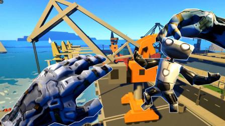 【XY小源VR】模拟机器人 总感觉是在模拟怪兽毁城市 然后等奥特曼出现