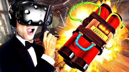 【屌德斯解说】 VR特工模拟器 在一辆处处都是黑科技的汽车中拆炸弹!