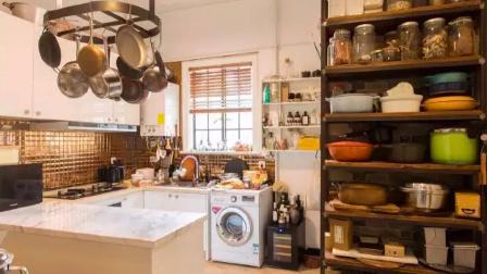 10平米爆美厨房,500件食器,件件漂亮