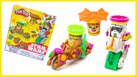 亲子玩具星球大战玩具试玩 亲子互动培乐多彩泥造型玩具 小猪佩奇 超级英雄 亲子视频