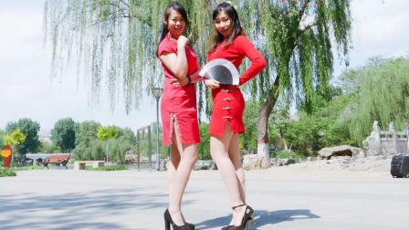 【NANA】带妈妈一起户外中国风 - 桃花旗袍