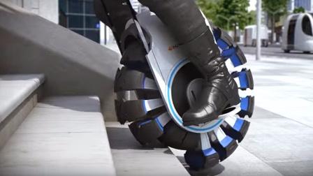 如果以后的轮胎变成这样~那就有点屌了
