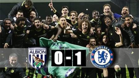 巴舒亚伊第82分钟绝杀 切尔西1-0客胜提前两轮夺冠
