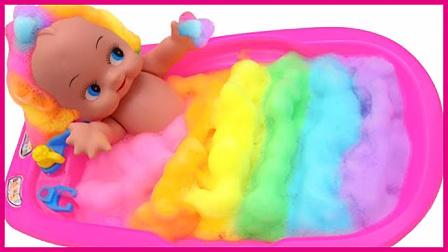 宝宝泡泡浴里的玩具家族 亲子互动卡通玩具过家家 小猪佩奇 汪汪队立大功 熊出没