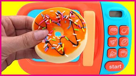 彩虹碎碎粒牛奶甜甜圈 亲子手工微波炉的美食日记 小猪佩奇 秦时明月 亲子视频