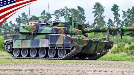 法国陆军-勒克莱尔主战坦克-在欧洲坦克挑战赛