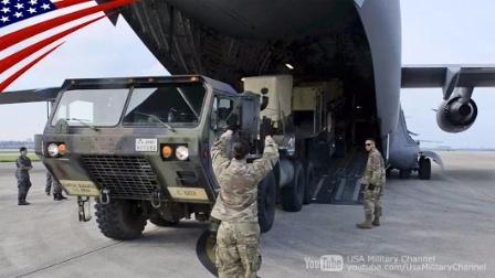 美军-MIM-104爱国者III型防空导弹PAC-3参加美日联合防空演习