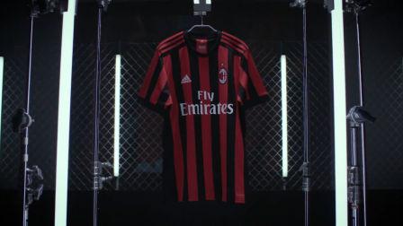 回归传统—阿迪达斯推出AC米兰2017-18赛季主场球衣