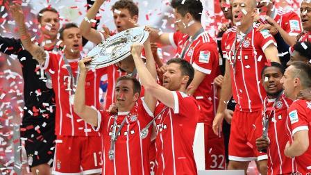 拉姆阿隆索告别罗本造3球 拜仁4-1弗赖堡顺利加冕